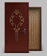 Входная металлическая дверь серии «Конструктор» А1 МДФ с коваными элементами