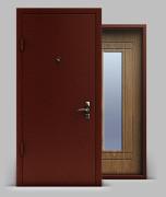 Входная металлическая двери серии «Конструктор» А1 МДФ Light с зеркалом