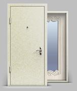 Входная металлическая дверь серии «Конструктор» А1 МДФ с зеркалом