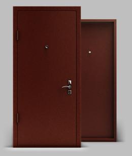 Входная металлическая дверь серии А2 металл/металл Эконом