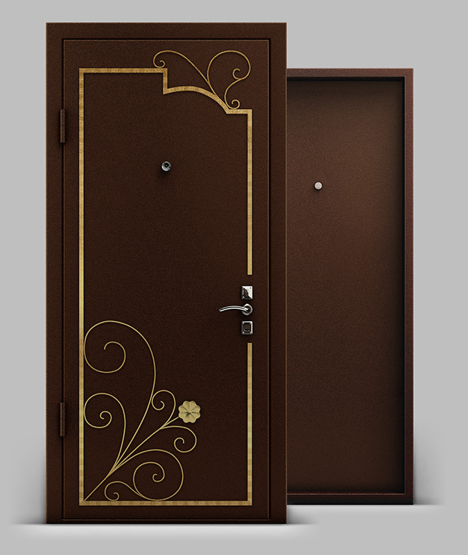 металлические двери в зябликово