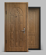 Входная металлическая дверь серии А3 МДФ/МДФ Оптима 10