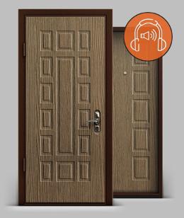 Входная металлическая дверь серии А3 МДФ/МДФ Q-lon