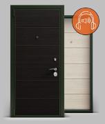 Входная металлическая дверь серии А3 МДФ/МДФ «Qlon», Securemme