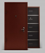 Входная металлическая дверь серии А1 металл/МДФ Техно