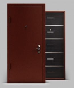 Входная металлическая дверь серии «Конструктор» А1 МДФ Техно
