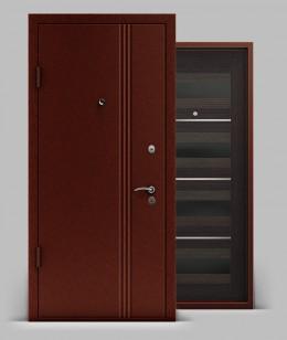 Входная металлическая дверь серии А1 металл/МДФ Элеганс 74