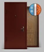 Входная металлическая дверь серии «Тепло» А1 МДФ