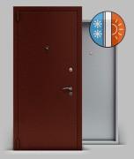 Входная металлическая дверь серии А2 металл/металл «Тепло»