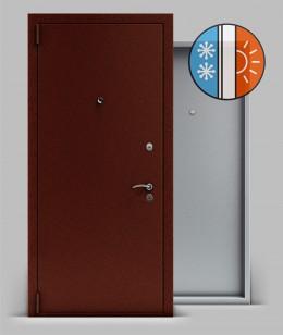 Входная металлическая дверь серии «Тепло» А2
