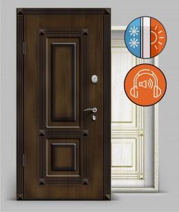 Входная металлическая дверь серии А3 металл/металл «Тепло»