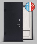 Входная металлическая дверь серии «Арктика» А1 МДФ